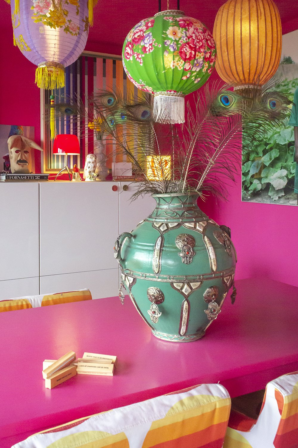 Moroccan vase by Eterne /// More on Interiorator.com